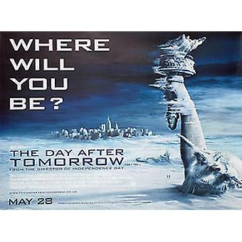The Day After Tomorrow (Regular) Original Cinema Poster