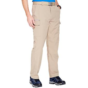 Pegasus Mens Cargo Trouser Water Resistant Side Elasticated Outdoor Walking Pants