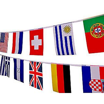 World Cup 2018 Bunting 32 Flags