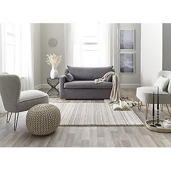 Maison 7887c White lt Grey  Rectangle Rugs Plain/Nearly Plain Rugs