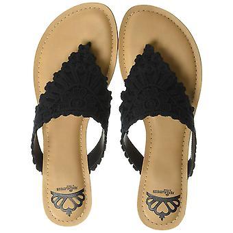 Fergalicious Women's Samba Flat Sandal