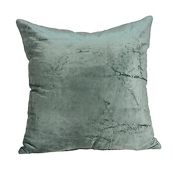 """20"""" x 7"""" x 20"""" Transitional Sea Foam Solid Pillow Cover With Poly Insert"""