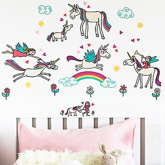 Tyrrell Katz Unicorn Wall Stickers