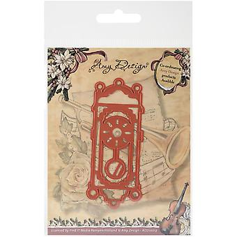 Find It Trading Amy Design Vintage Christmas Die-Old-Fashioned Clock