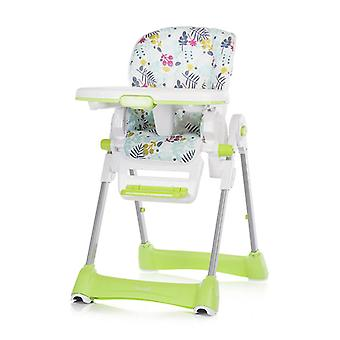 Chipolino high chair Bravo, 8-fold height-adjustable, foldable, portable