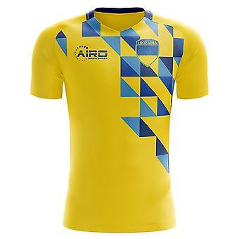 2020-2021 Ukraine Home Concept Fodbold shirt - Baby