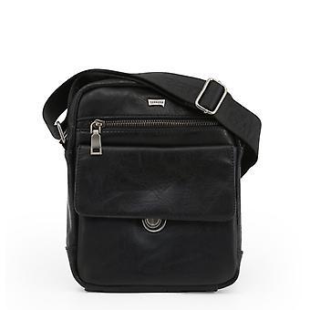 Carrera jeans men's crossbody bag, black 1401