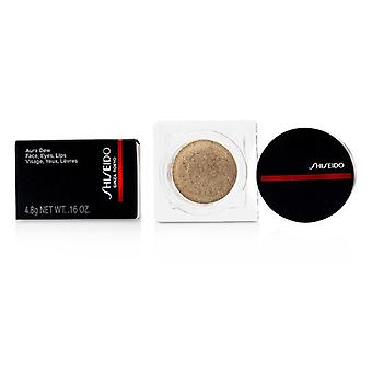 Shiseido Aura Dew Face, Eyes, Lips - # 02 Solar (Gold) 4.8g/0.16oz