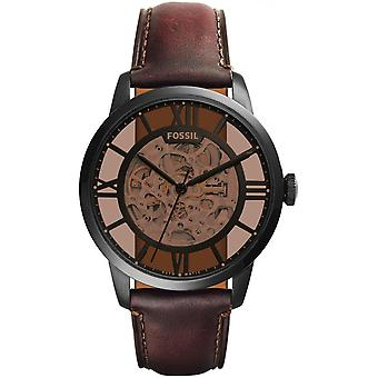 Watch Fossil ME3098 Townsman - leather round man