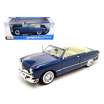 1949 Ford Convertible Blue 1/18 Diecast Model Car by Maisto