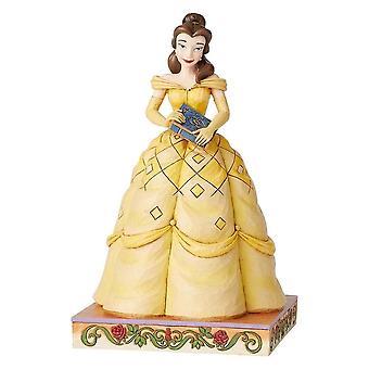 Disney Traditions Book-smart Beauty Belle Figurine