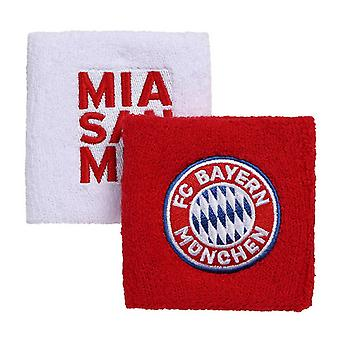 FC Bayern Munich Wristbands (Pack Of 2)