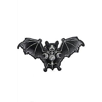 Curiology Skeletal Bat Pin Badge