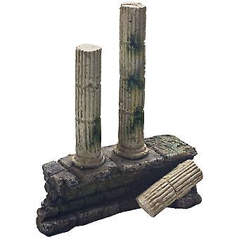 Ica Ornamento Colonne Romane 1 (Pesci , Decorazioni , Rocce e grotte)