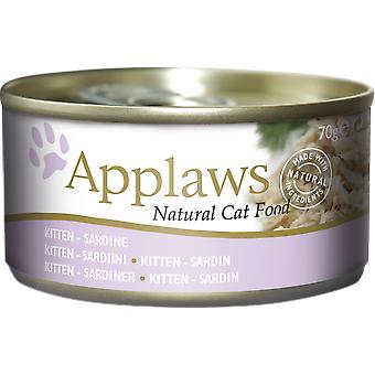 Applaws Can with Sardine for Kittens (Cats , Cat Food , Wet Food)