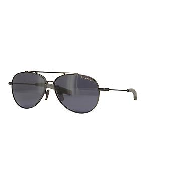 Dita Lancier DLS101 04 Black Gunmetal/Polarised Grey Sunglasses