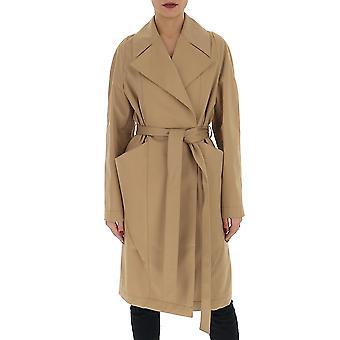 Stella Mccartney 598791soa092711 Women's Brown Cotton Coat