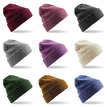 Beechfield Heritage Adults Unisex Premium Plain Winter Beanie Hat