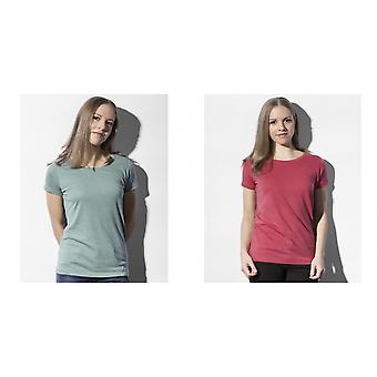 Nakedshirt Womens/Ladies Nancy Triblend T-Shirt