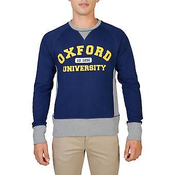 Oxford University Original Men Fall/Winter Sweatshirt - Blue Color 55862