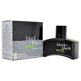 Nu Parfums Preto É Preto Esporte Eau de Toilette Spray 100ml