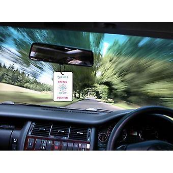 Proton oleskelun positiivinen auton ilmanraikastustuotteiden