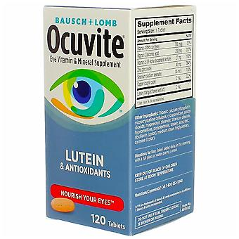 Bausch + lomb ocuvite eye vitamin with lutein, tablets, 120 ea