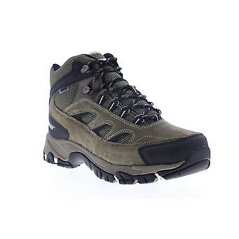 Hi-Tec Ramsey impermeable hombres marrón ancho 2E ante botas de senderismo