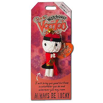 Watchover Voodoo Dolls Always Be Lucky Voodoo Keyring