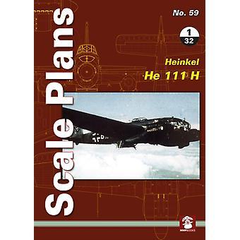 Scale Plans No. 59 Heinkel He 111 H 132 by Maciej Noszczak
