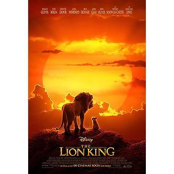 The Lion King Originele Film Poster Double Sided Final Stijl