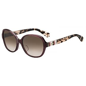 Sunglasses Caillee Women's Purple/Brown