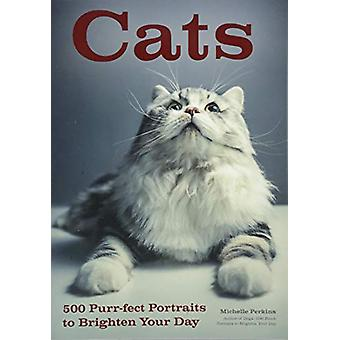 Cats - 500 Purr-fect Portraits to Brighten Your Day by Michelle Perkin