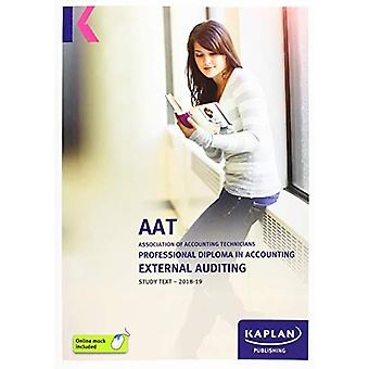 EXTERNAL AUDITING - STUDY TEXT by KAPLAN PUBLISHING - 9781787402775 B