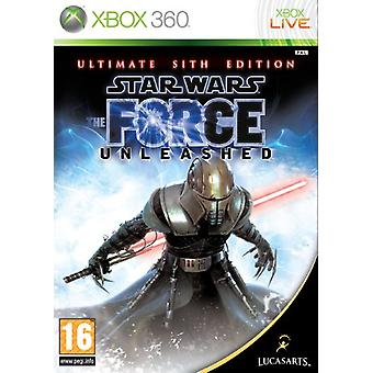 Star Wars The Force Unleashed - The Ultimate Sith Edition (Xbox 360) - Nouveau