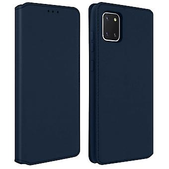 Samsung Galaxy Note 10 Lite Case Cover Folio Wallet Function Support Blue