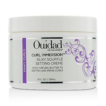 Curl immersion silky souffle setting creme (kinky curls) 219746 236ml/8oz