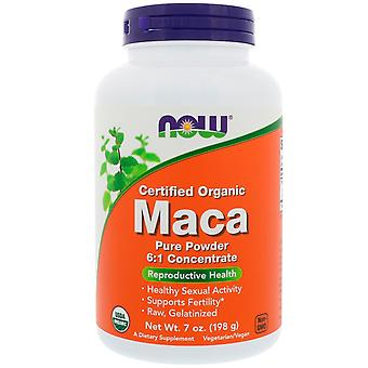 Certified Organic Maca Pure Powder (198 grammes) - Now Foods