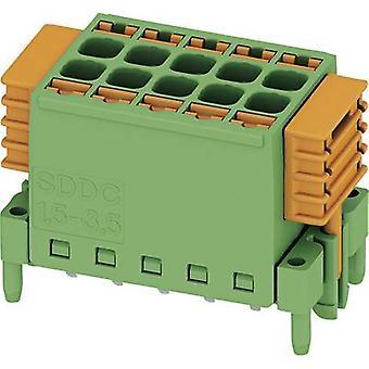 Phoenix Contact Pin-behuizing - PCB SDDC Totaal aantal pinnen 10 Contactafstand: 3,50 mm 1848671 1 pc(s)