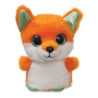 """Aurora SparkleTales Poppy Fox Mini 4"""" Soft Plush Cuddly Toy Orange"""