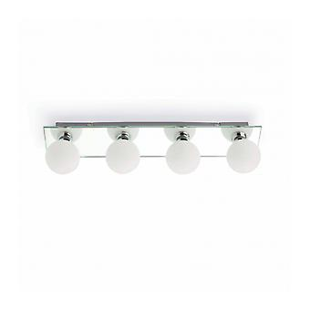 Wall Lamp Chrome Lass 4 Bulbs