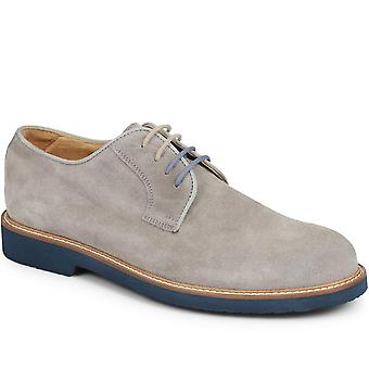 Jones Bootmaker Mens Walter Suede Derby Kenkä Vibram Sole