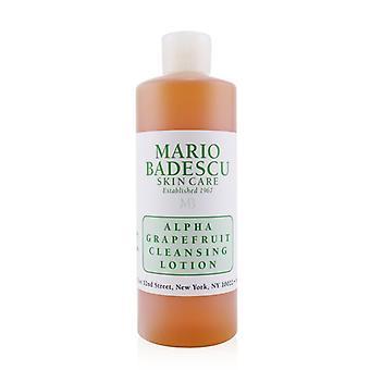 Mario Badescu Alpha grejpfruta Cleansing Lotion - dla kombinacji / 472ml/16 uncji typy skóry suchej / wrażliwej