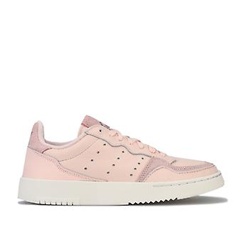 Girl's adidas Originals Junior Supercourt Trainer in Pink