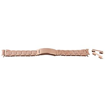 Horloge armband rose gold pvd verguld 12mm-22mm