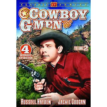 Cowboy G-Men: Vol. 2 [DVD] USA tuonti
