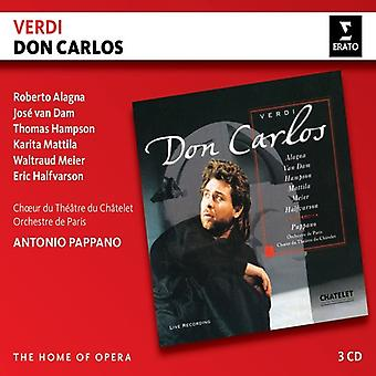 Pappano*Antonio / Alagna*Roberto - Verdi: Don Carlos [CD] USA import