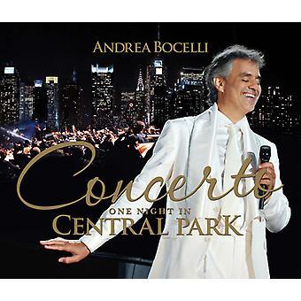 Andrea Bocelli - Concerto: Uma noite no Central Park [Deluxe Edition] [CD] importação EUA