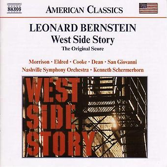 L. Bernstein - Leonard Bernstein: West Side Story (the Original Score) [CD] USA import