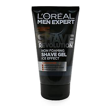 Men expert shave revolution non foaming shave gel (ice effect) 249962 150ml/5.29oz